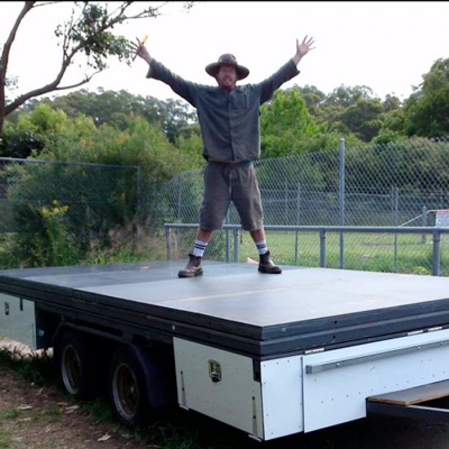 Get on-board the B&J Trailer Stage Project